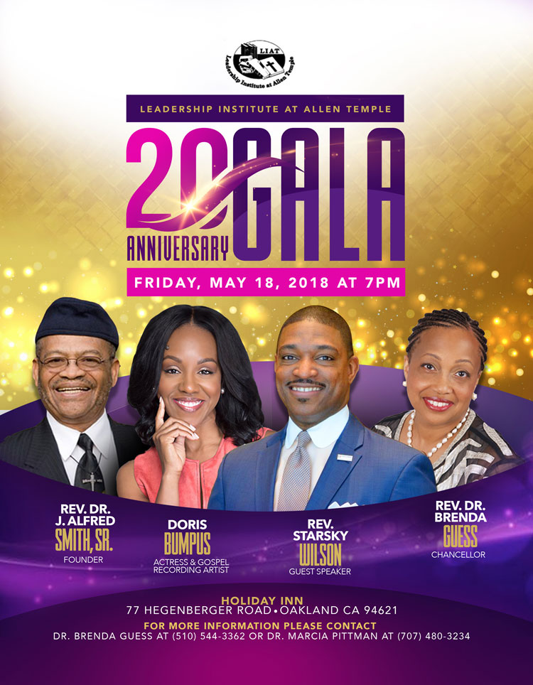 LIAT 20th Anniversary Gala: May 18, 2018 7pm